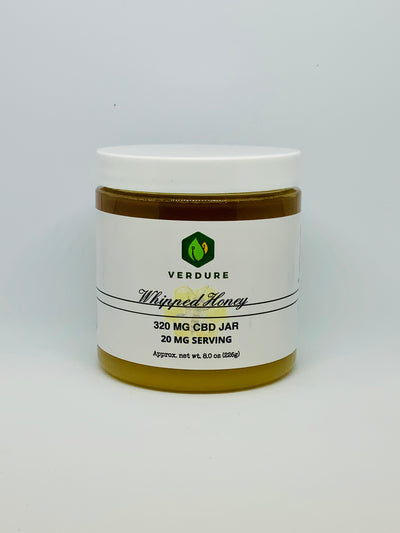 Verdure Whipped Honey 8 oz - Beyond Full Spectrum