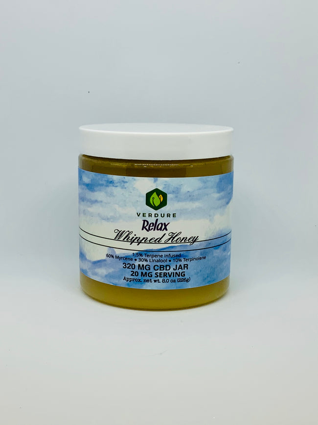 Verdure Whipped Honey Relax 8 oz - Beyond Full Spectrum