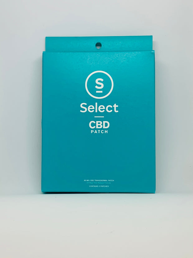 Select CBD Transdermal Patch - Beyond Full Spectrum