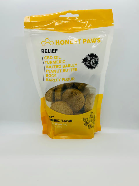 Honest Paws Relief CBD Dog Treats - Beyond Full Spectrum