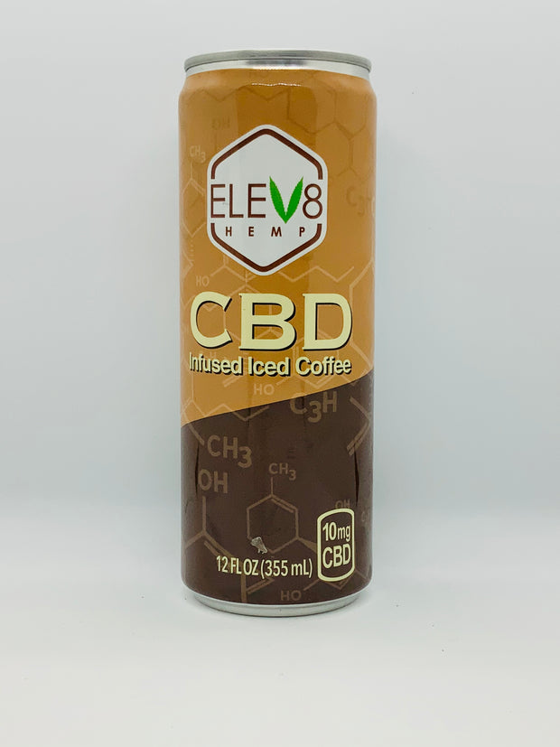Elev8 CBD Iced Coffee - Beyond Full Spectrum