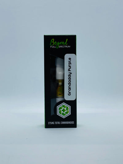 Beyond Full Spectrum Vape Cartridge - Beyond Full Spectrum