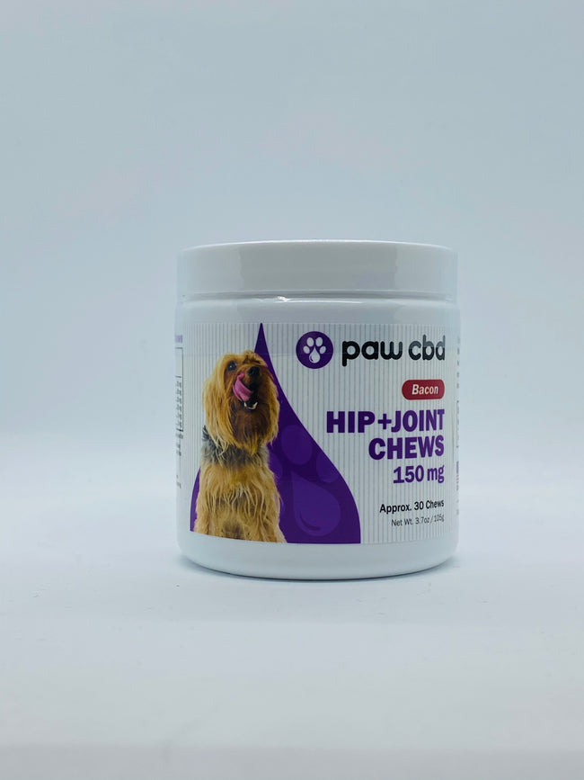 Paw CBD Hip + Joint Bacon Soft Chews - Beyond Full Spectrum