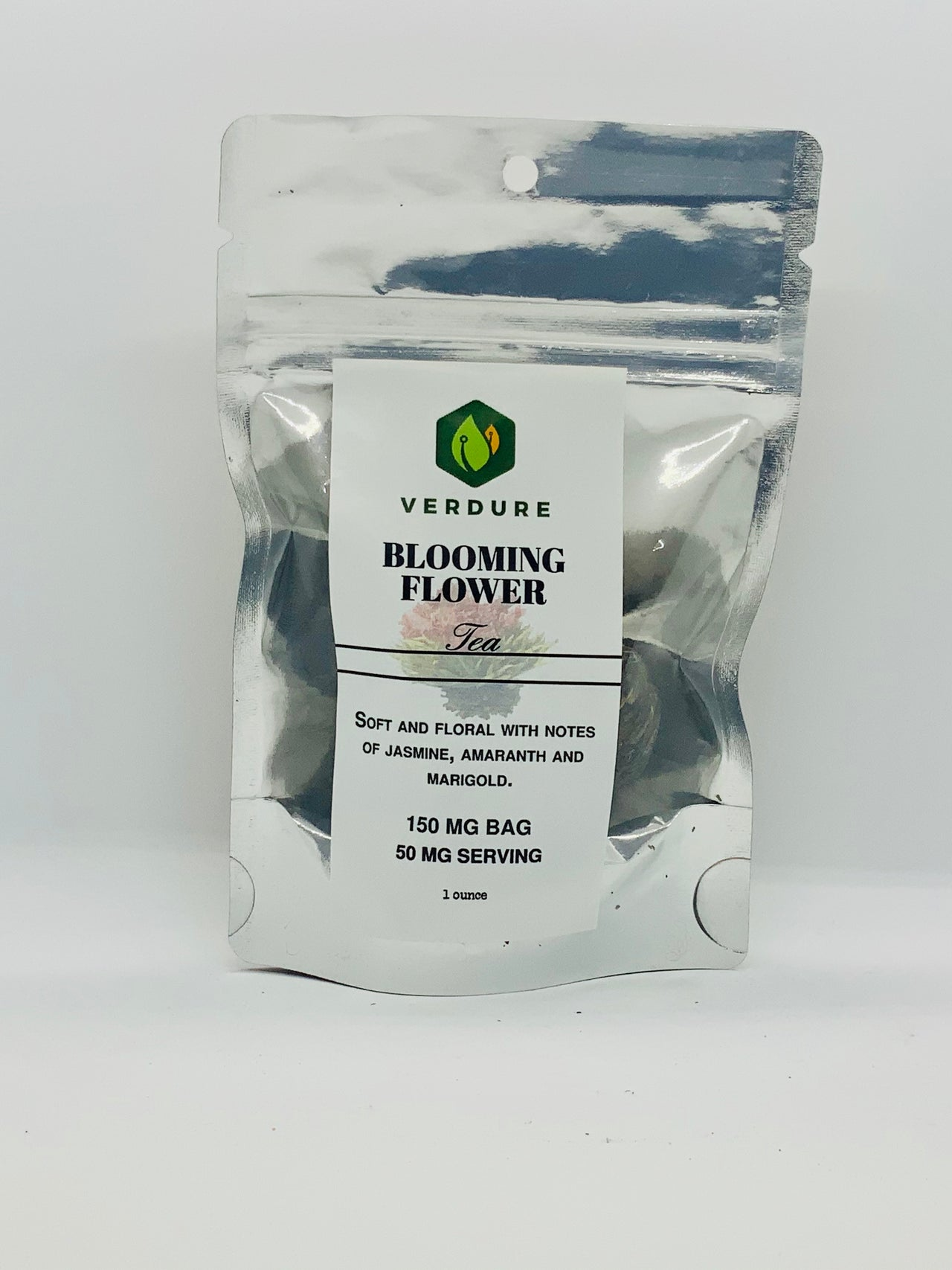 Verdure Jasmine Blooming Tea 150mg - Beyond Full Spectrum