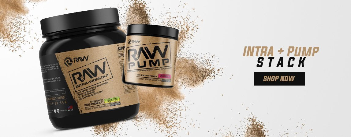 raw intra pump workout supplement stack