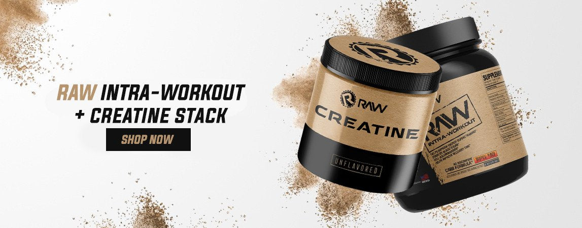 raw intra workout creatine stack banner