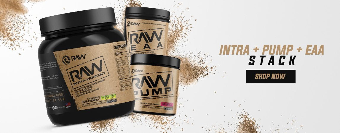 shop raw nutrition intraworkout eaa.pump stack