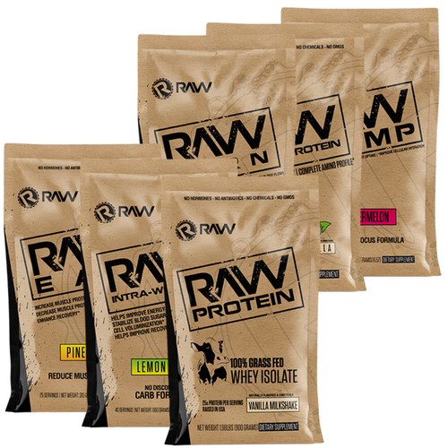 full bundle supplement 6pack sampler kit
