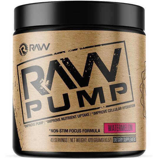 raw nutrition pump watermelon supplement