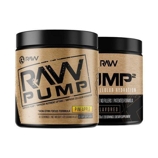 raw nutrition pump2 stack pineapple unflavored