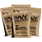 raw protein sample 3pack chocolate