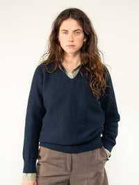 ELLI / MERINO WOOL / DARK BLUE