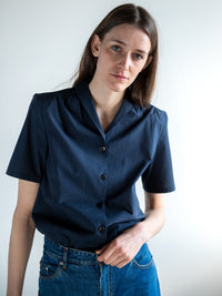 JEAN / SHIRT / BLACK-BLUE