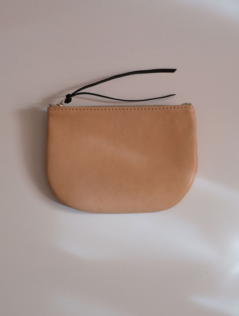 STAN / LEATHER BAG WITH ZIPPER / CALF LEATHER