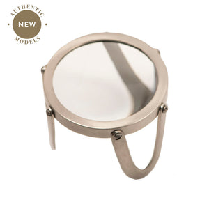 "Desk Magnifier 4"", Pewter (4653115637859)"