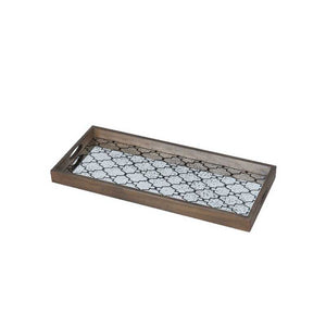 Bronze Gate Mirror Tray - Medium (4600357224547)