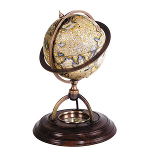 Terrestrial Globe With Compass – GL019 (4621223788643)