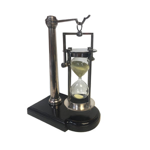Silver 30 min Hourglass with Stand – HG008S (4616648818787)