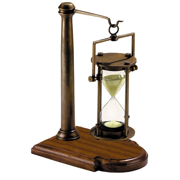 Bronzed 30 min Hourglass with Stand – HG008 (4616655372387)