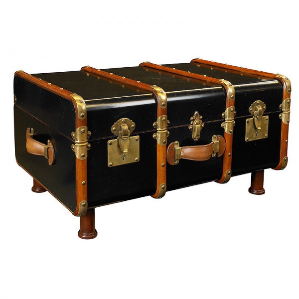 Stateroom Trunk Table, Black (4672239403107)