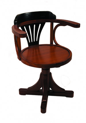 Purser's Chair, Black & Honey (4672291766371)