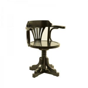 Purser's Chair, Black (4672292782179)