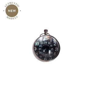 Eye of Time Clock, Silver – SC063 (4616588918883)