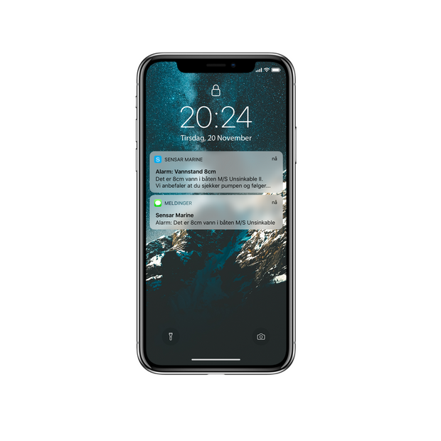 SmartBoat One Notifications