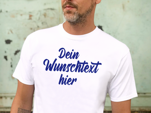 Individualisierbar T-Shirt