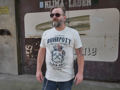 T-Shirt Ruhrpott Authentic, unisex, ecru