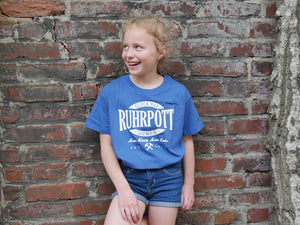 T-Shirt Ruhrpott Oval Puff jr., Kids, blau