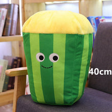 Load image into Gallery viewer, green popcorn plushie