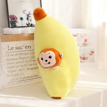 Load image into Gallery viewer, monkey in banana plushie