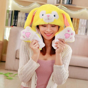 Cute Animal Hat with Moving Ears (25 Styles!)