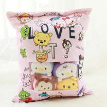 Load image into Gallery viewer, cute mini tsum tsum plushie snack in pudding bag