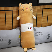 Load image into Gallery viewer, Cute brown cat plushie for the cat-people.