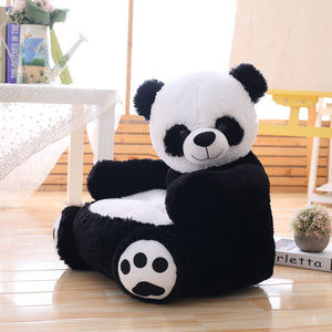 cute panda plushie cushion