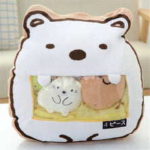 Load image into Gallery viewer, cute mini bear plushie snack in pudding bag