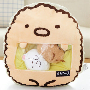 cute mini egg plushie snack in pudding bag