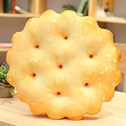 Cute salty RITZ crackers plushies for cushion