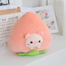 Load image into Gallery viewer, pig in strawberry plushie