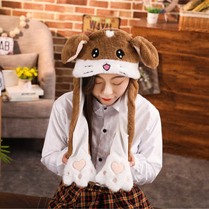 Cute Animals Moving Ears Hat (11 Styles Available!)