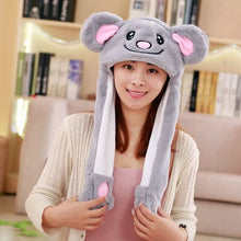Load image into Gallery viewer, Cute Animal Hat with Moving Ears (25 Styles!)