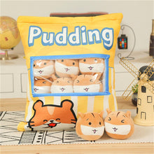 Load image into Gallery viewer, cute mini mouse plushie snack in pudding bag