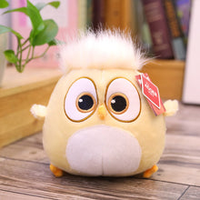 Load image into Gallery viewer, yellow hairy chicken plush animal toy