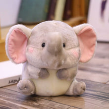 Load image into Gallery viewer, cute round and fat elephant plushie