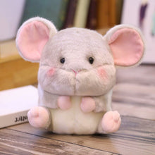Load image into Gallery viewer, cute round and fat mouse plushie
