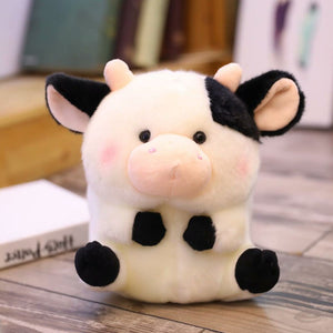 cute round and fat cow plushie