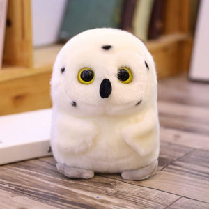 cute round and fat owl plushie