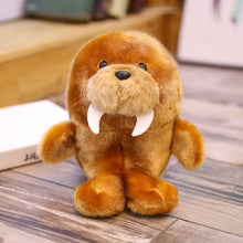 Load image into Gallery viewer, cute round and fat sealion plushie